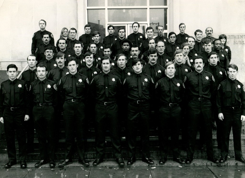 Members of the 122nd Recruit Class SFPD. Date of appointment, September 11,1972