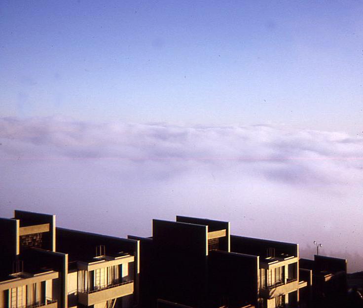 Fog in Diamond Heights 2 October 1973
