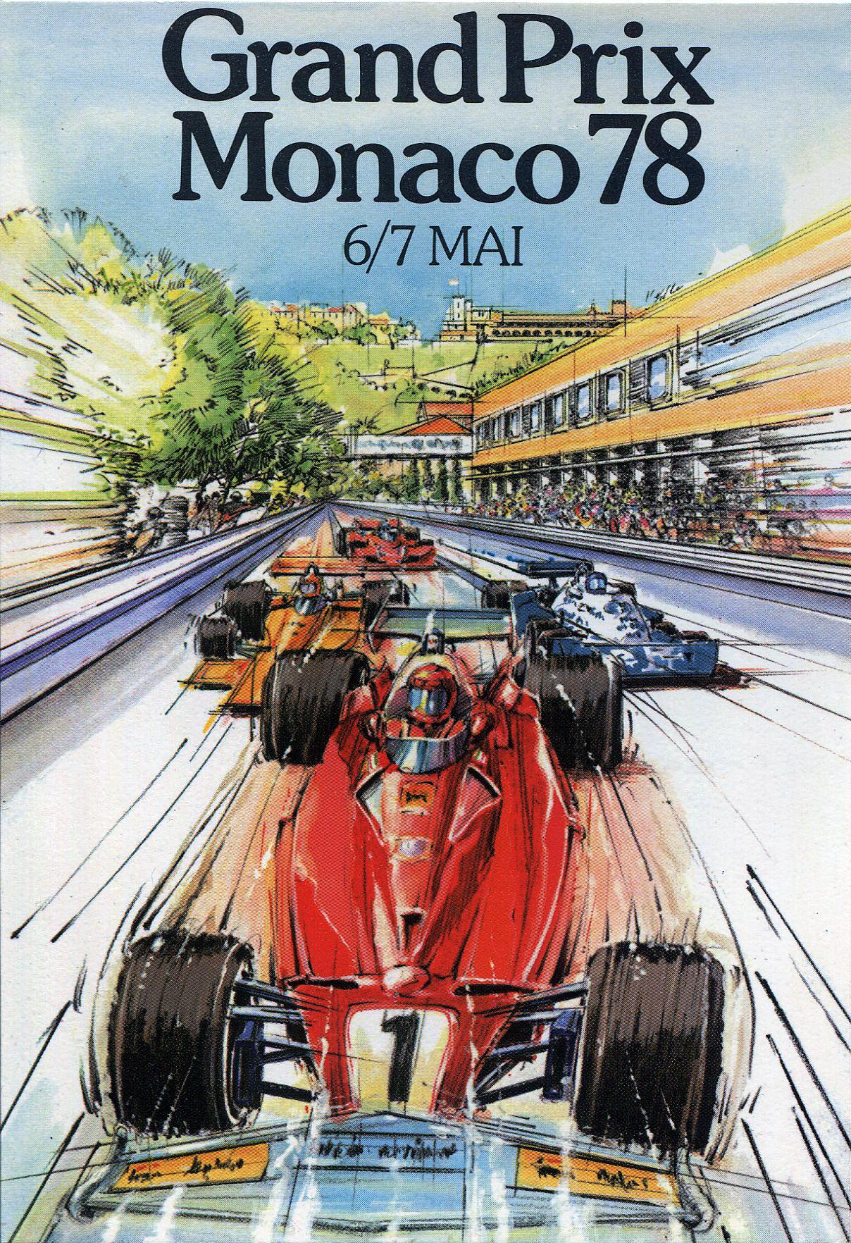 Grand Prix of Monaco poster