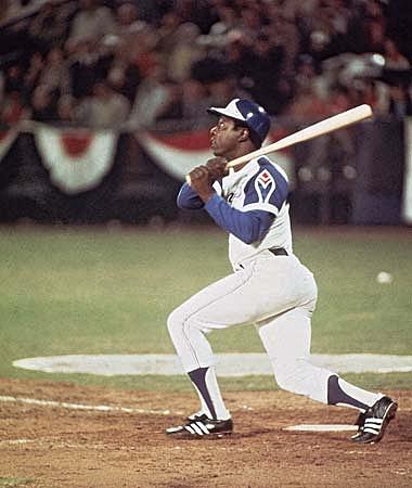 Hank Aaron Atlanta Braves 1974 (c) Google