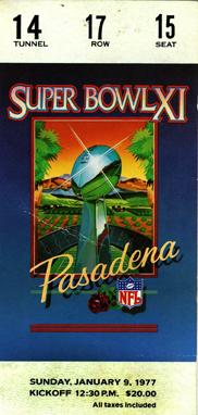 Superbowl ticket