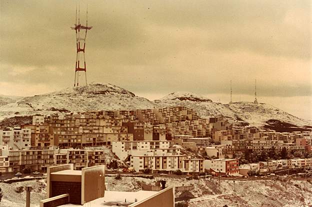 Twin Peaks snow