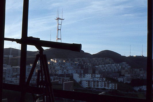 My new telescope can see Twin Peaks