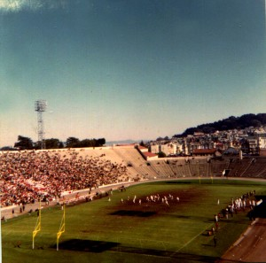 1966 SF City Championship Game Kezar Stadium